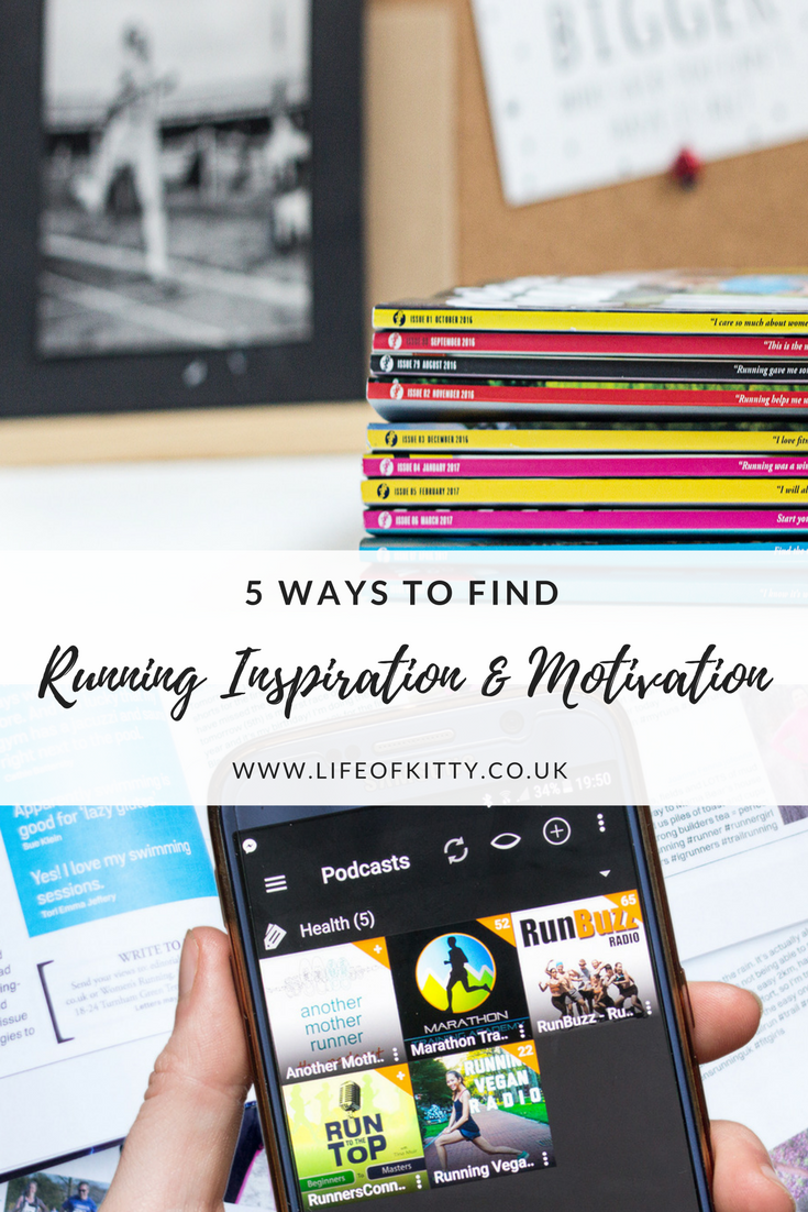 5 Ways To Find Running Inspiration And Get Motivated // Life of Kitty