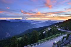 Sunset at Mountain Hehuan 合歡山