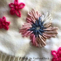 Freeform Yarn Embroidery