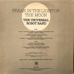 THE UNIVERSAL ROBOT BAND:FREAK IN THE LIGHT OF THE MOON(JACKET B)