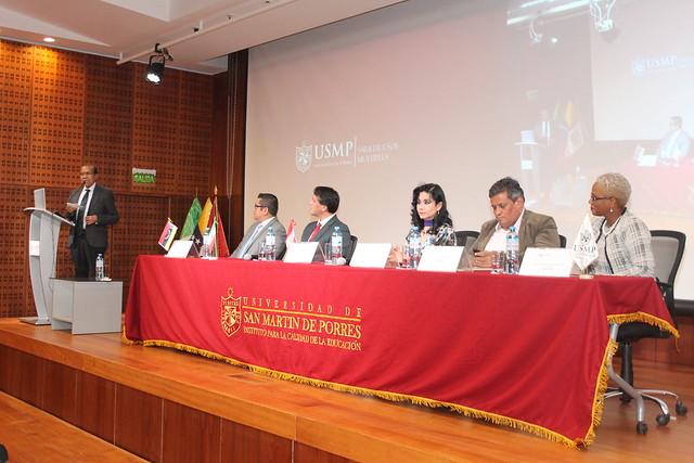 """El Instituto para la Calidad de la Educación y la Unidad de Virtualización de la USMP organizaron la """"Conferencias Académicas Internacionales"""""""