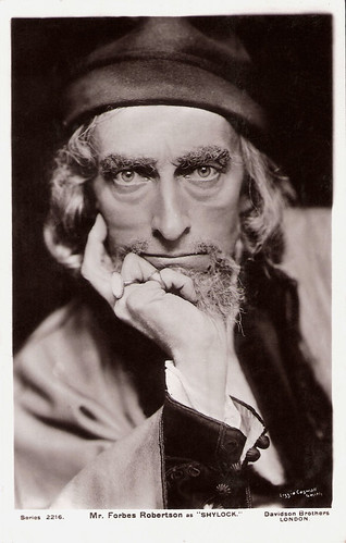 Johnston Forbes-Robertson as Shylock