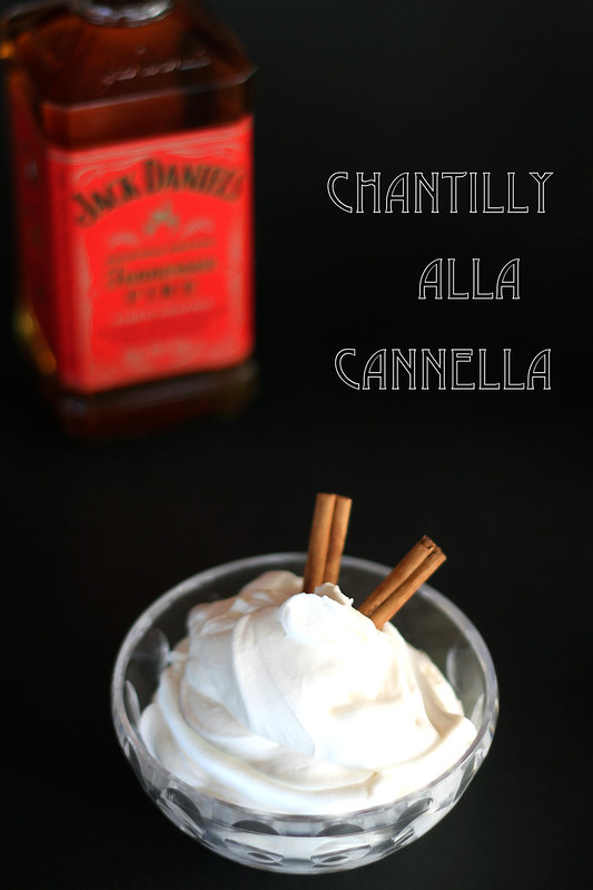 chantilly alla cannella