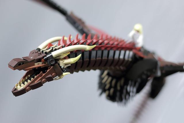 Képtalálatok a következőre: lego dragon moc