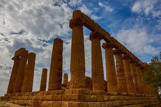 Agrigento: no Vale dos Templos