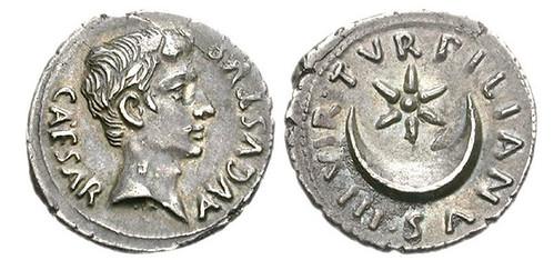 clodiusstar crescent coin