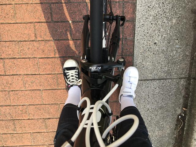 ロードバイク ビンディング