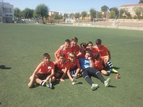 Club Miguel Unamuno en el torneo de fútbol en Alcalá