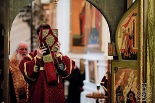 Литургия в Хутынском монастыре 170