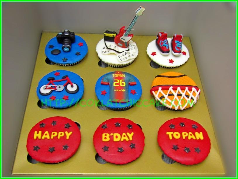cupcake set boys - Topan