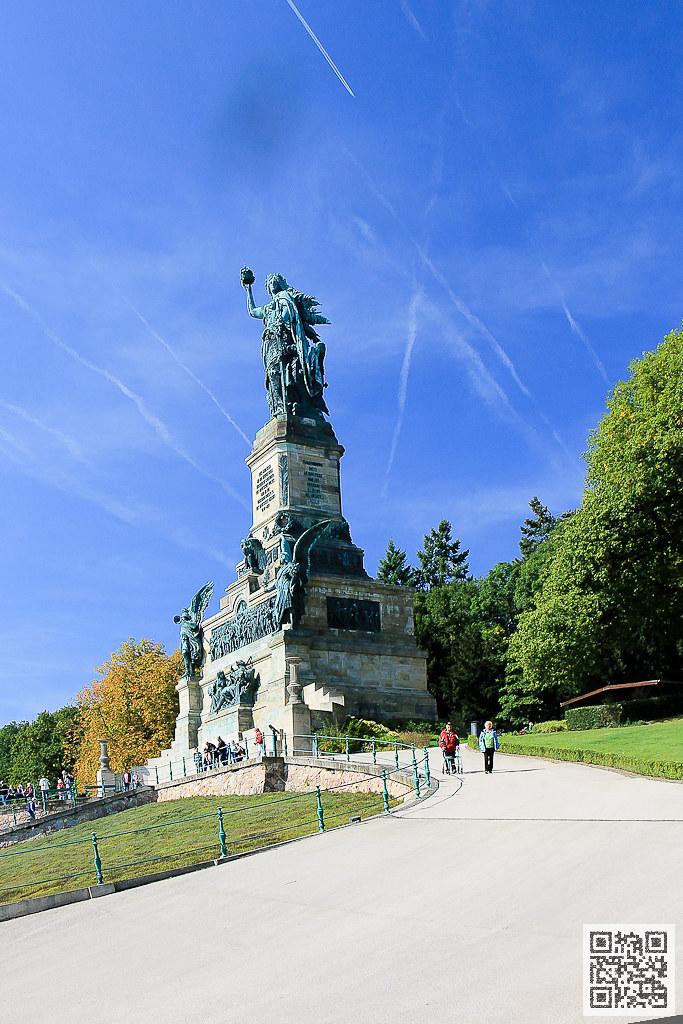 萊茵河 尼德瓦爾德紀念雕像