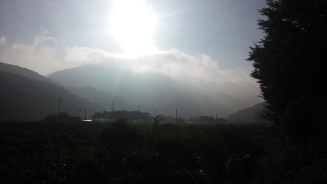 아침풍경 : 도장산