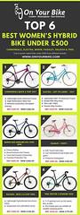 Top 6 Women's Hybrid Bike Under £500