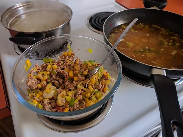 Marley Spoon chilli pork ramen