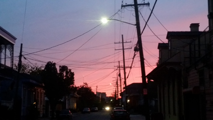 Sundown on the Treme