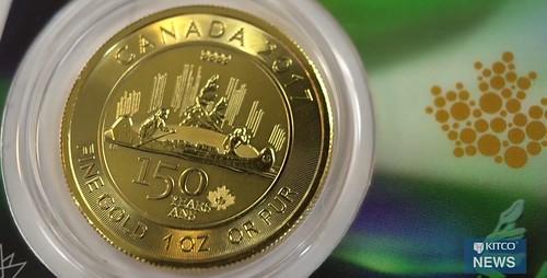 Canada 150 year gold