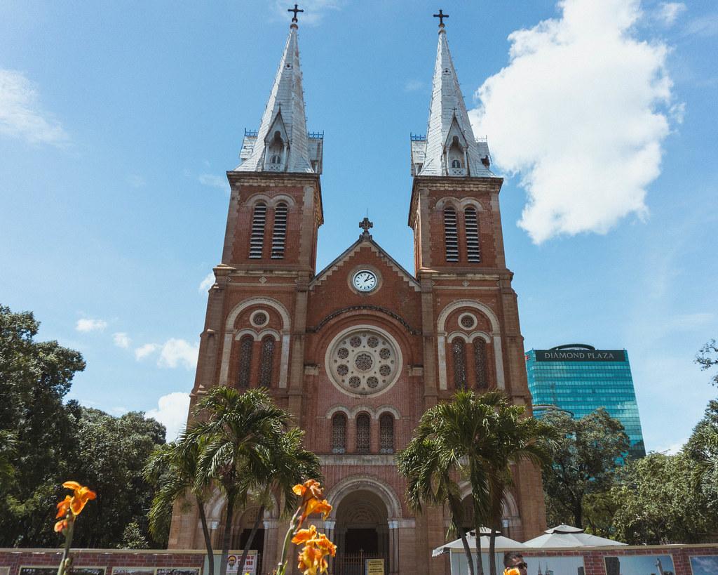 notre dame Ho Chi Minh City Vietnam Blogger Travel Guide