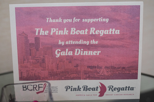 Pink Boat Regatta Gala 2017 - Seattle, WA, USA