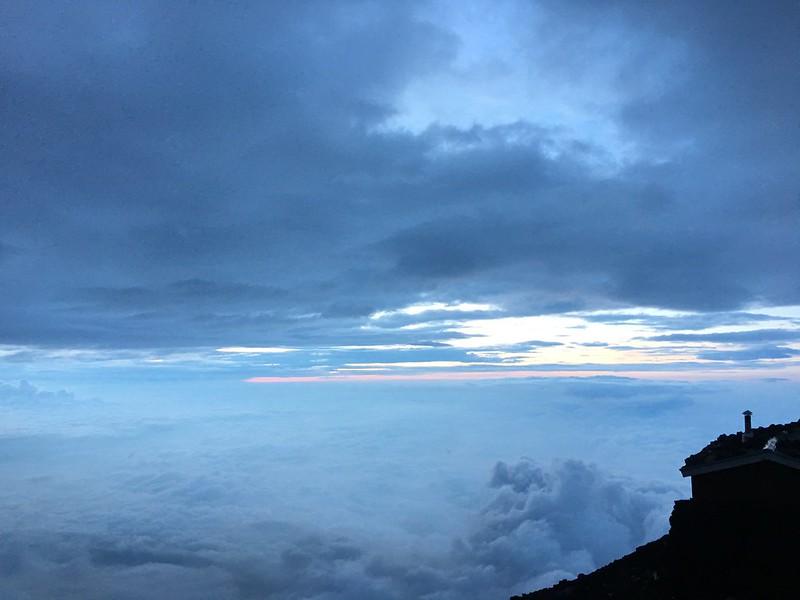 富士山頂雲海