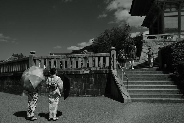 late summer sky@Kiyomizu, Kyoto