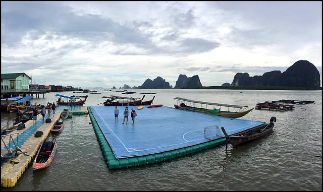 Koh Panyee Floating Football Pitch