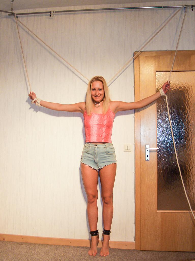 Jassi in bondage at home