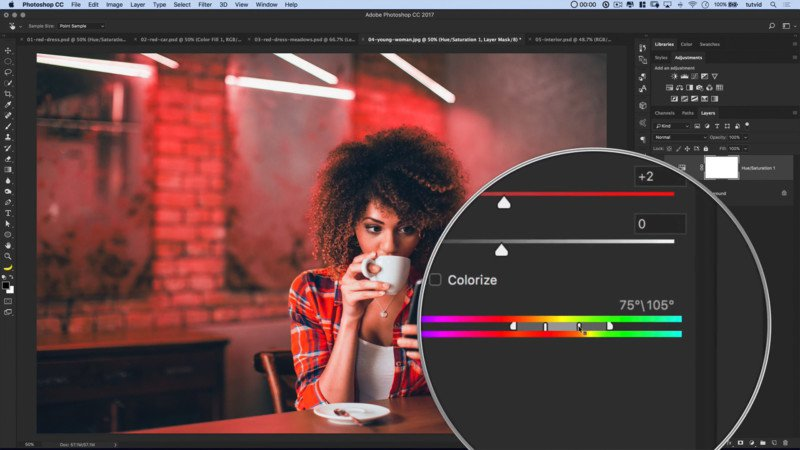 Hướng dẫn thay đổi màu sắc vật trong Photoshop