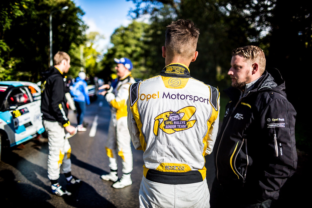 Ingram Chris, Opel Rallye Junior Team, Opel Adam R2 ERC Junior U27 ambiance portrait during the 2017 European Rally Championship ERC Liepaja rally,  from october 6 to 8, at Liepaja, Lettonie - Photo Thomas Fenetre / DPPI
