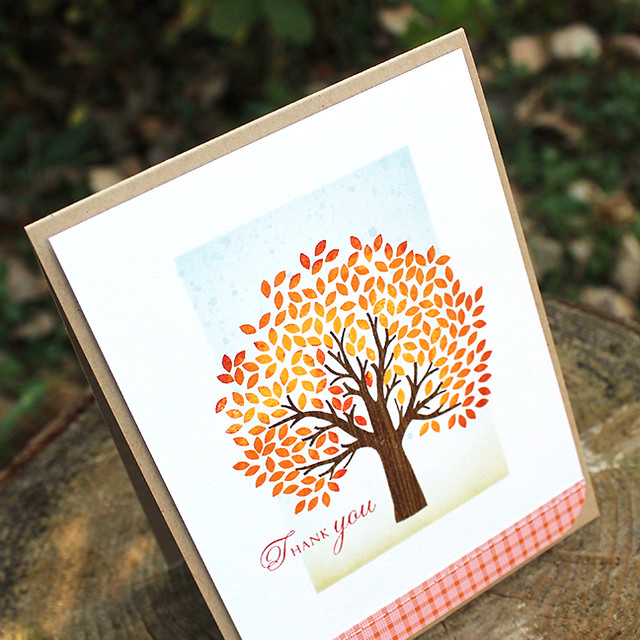Autumn Thank You Card 3
