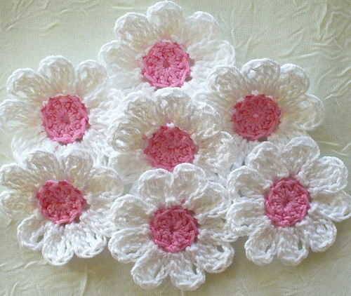 🌸💝🌸 How beautiful is this beautiful flower pattern, see step by step. I loved this model