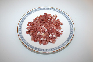 04 - Zutat gewürfelter Speck / Ingredient diced bacon