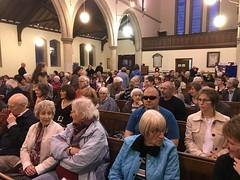 Audience for Jubilate Chamber Choir at St. Nicholas' Church, Belfast