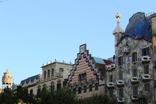immeuble paseo de gracia barcelona