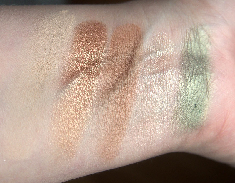 NYX Olive You swatches