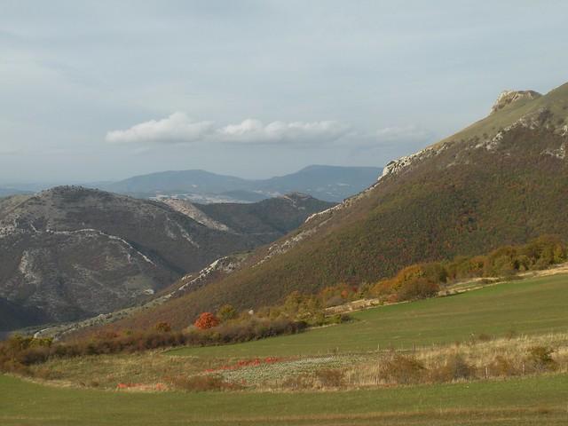 Panorama Nord da monte, Nikon COOLPIX S560