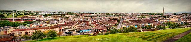 Das ist Derry in Nordirland