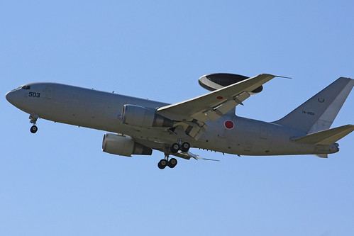 警戒航空隊 第602飛行隊 E-767 74-3503 IMG_3910_2