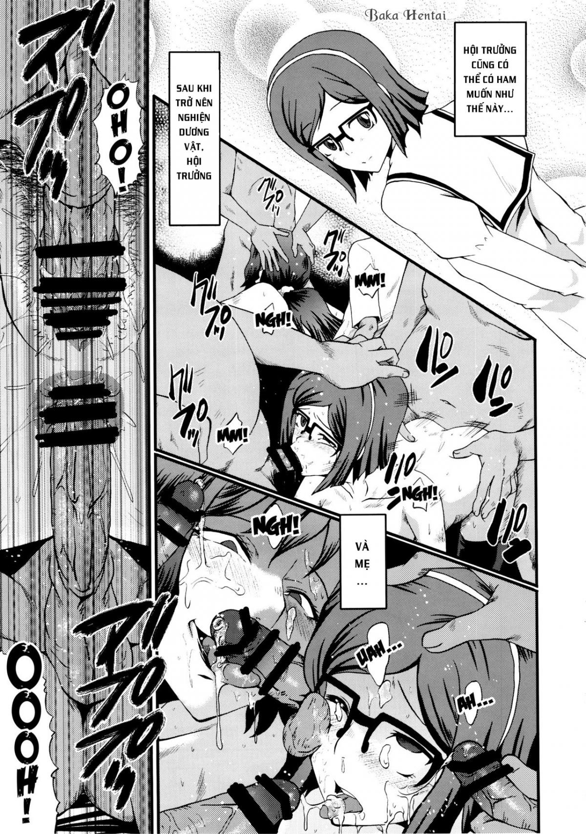 HentaiVN.net - Ảnh 19 - Kaa-san wa Boku ga Shiranai Uchi ni Omanko ni DoHamari shite mashita (Gundam Build Fighters) - Urabambi 49 ~Kaa-San Wa Boku Ga Shiranai Uchi Ni Omanko Ni DoHamari Shite Mashita. - Oneshot