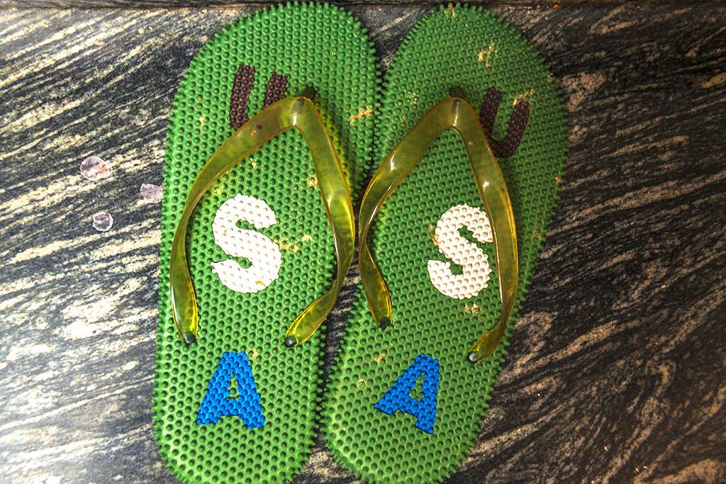 USA flip-flops--Saigon
