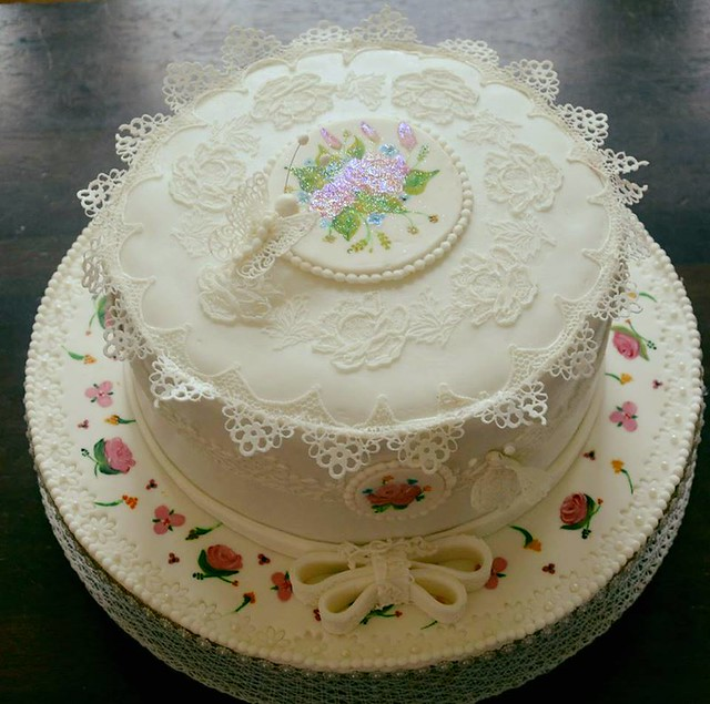 Beauty of Purity Cake by Jeena James