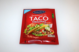 17 - Zutat Taco-Gewürzmischung / Ingredient taco seasoning mix