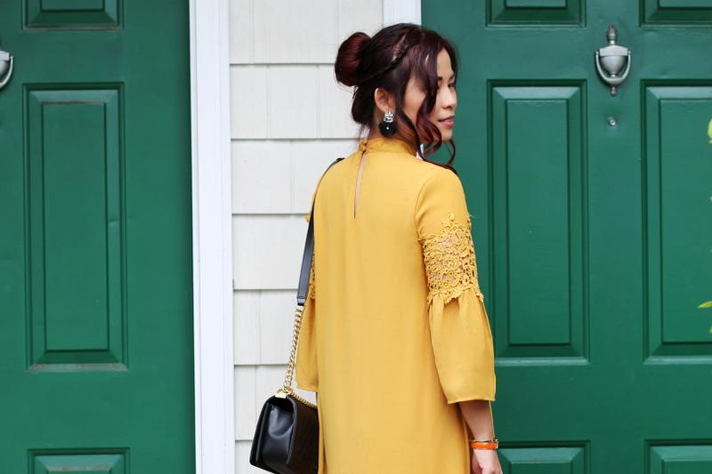 mustard-yellow-dress-hair-updo-14