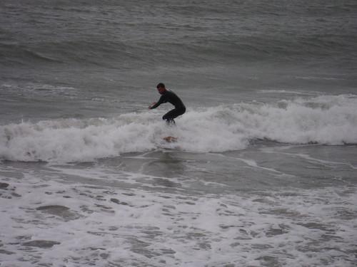 Surfer, Folkestone Beach