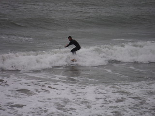 Surfer, Folkestone Beach