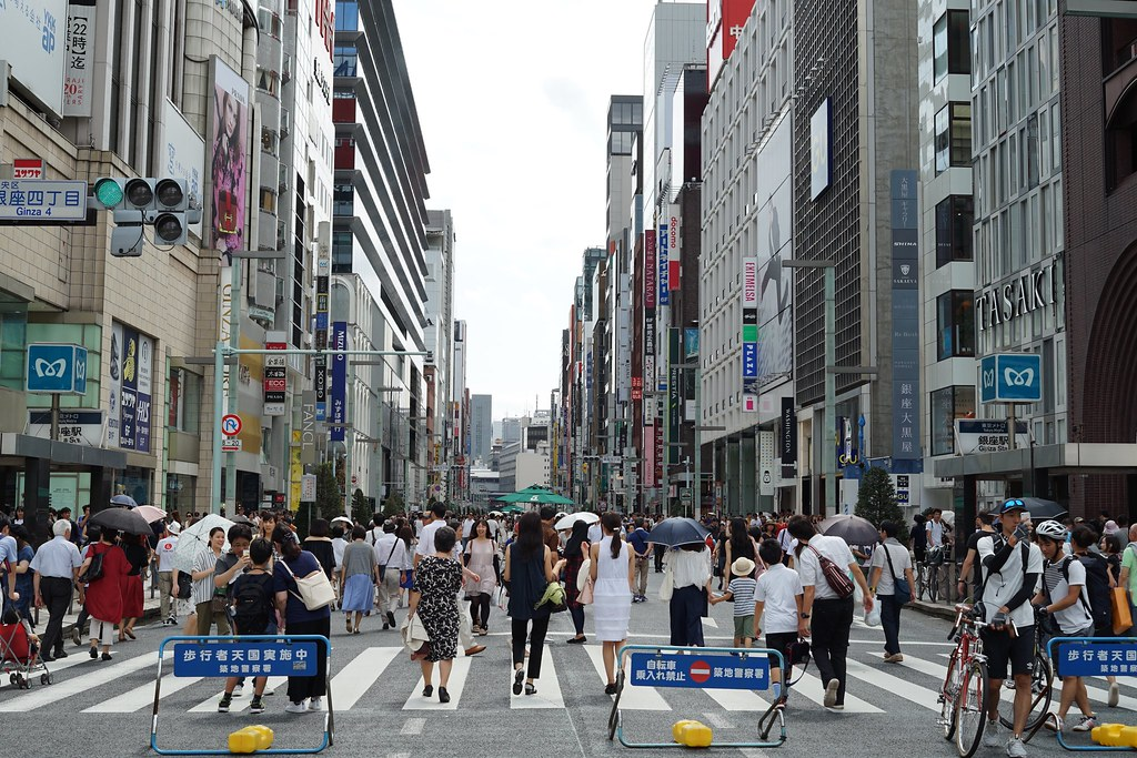 on Ginza