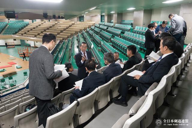 第65回全日本剣道選手権大会係員打ち合わせ会風景_004