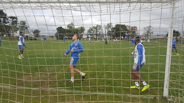 Treino Grêmio 17/10/17