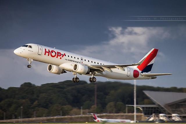 LIL - Embraer 190AR (F-HBLA) HOP! for Air France