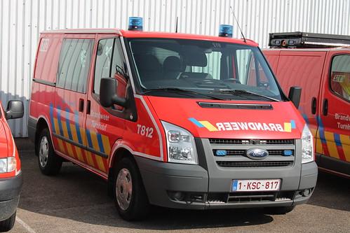 Materiaalwagen T812 Brandweer Turnhout