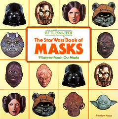 The Star Wars Book of Masks by Walter Velez, 1983